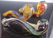 "5"" HEAVY DUTY COLOR CHANGING SHERLOCK PIPE"