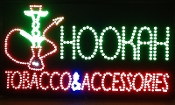 HOOKAH. TOBACCO. ACCESSORIES SIGN