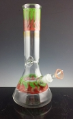 "12"" GLASS ON GLASS WATERPIPE"
