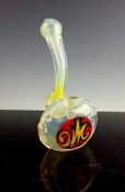 STANDING MAVERICK STYLE GLASS PIPE AMERICAN MADE