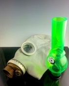 Gas Mask Water Pipe