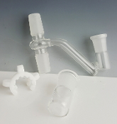 3PC GLASS JOINT SET WITH COVER AND CLIP