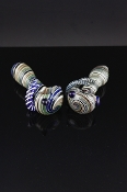 Colorful glass pipe with grip tentacles SW-GP709